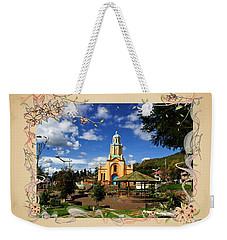 Main Plaza At Paccha, Ecuador IIi Weekender Tote Bag by Al Bourassa