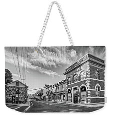 Weekender Tote Bag featuring the photograph Main St Sykesville by Mark Dodd