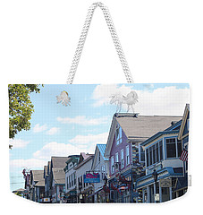 Main Street Bar Harbor Maine Weekender Tote Bag
