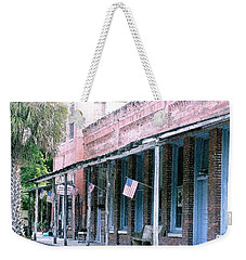 Main Street Micanopy Florida Weekender Tote Bag