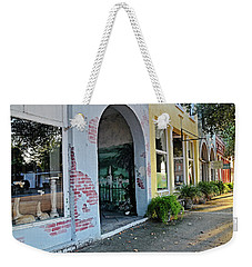 Weekender Tote Bag featuring the photograph Main Street Morning by Linda Brown