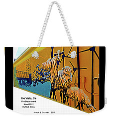 Main Street -  Nick Stiles Weekender Tote Bag