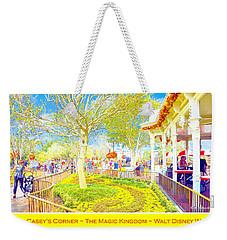 Main Street Usa Walt Disney World At Halloween Casey's Corner Weekender Tote Bag