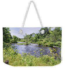 Weekender Tote Bag featuring the photograph Maine Beauty by John M Bailey