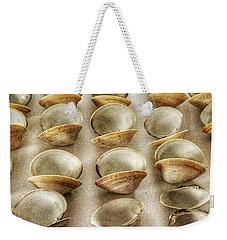 Maine Clam Shells Weekender Tote Bag