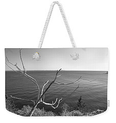 Weekender Tote Bag featuring the photograph Maine Coastline by Corinne Rhode