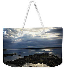Maine Drama Weekender Tote Bag by LeeAnn Kendall