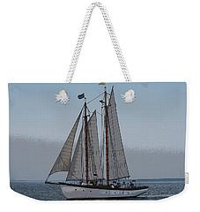 Maine Schooner Weekender Tote Bag