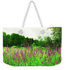 Maine Wildflowers Weekender Tote Bag