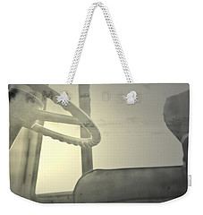 Weekender Tote Bag featuring the photograph Maintenance  by Mark Ross
