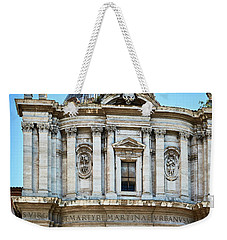 Weekender Tote Bag featuring the photograph Majestic Architecture In The Roman Forum by Eduardo Jose Accorinti