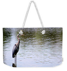 Majestic Great Blue Heron Weekender Tote Bag