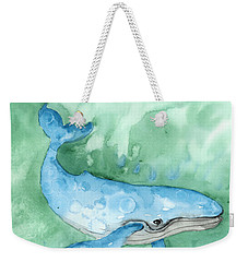 Weekender Tote Bag featuring the painting Majestic Creature by Darice Machel McGuire