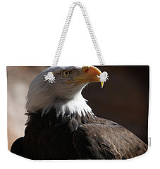 Majestic Eagle Weekender Tote Bag by Marie Leslie