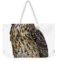 Majestic Eurasian Northern Eagle Owl Bubo Bubo - Hibou Grand-duc - Buho Real - Nationalpark Eifel Weekender Tote Bag
