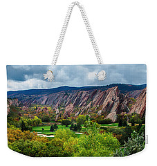 Majestic Foothills Weekender Tote Bag