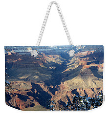 Weekender Tote Bag featuring the photograph Majestic Grand Canyon by Laurel Powell