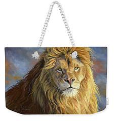 Majestic King Weekender Tote Bag