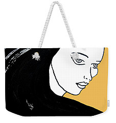 Majestic Lady Mimosa Yellow Pastel Painting 14-0848 F0b59 Weekender Tote Bag