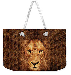 Majestic Lion Weekender Tote Bag