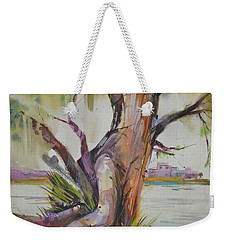 Majestic Live Oak  Weekender Tote Bag by P Anthony Visco