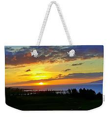 Majestic Maui Sunset Weekender Tote Bag