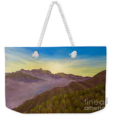 Majestic Morning Sunrise Weekender Tote Bag