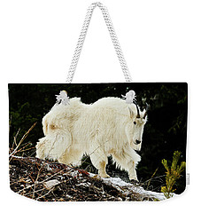 Majestic Mountain Goat Weekender Tote Bag