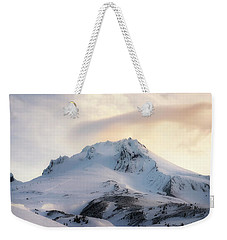 Weekender Tote Bag featuring the photograph Majestic Mt. Hood by Ryan Manuel
