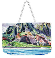 Majestic Na Pali Coast Weekender Tote Bag