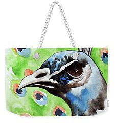 Majestic - Peacock Bird Art Weekender Tote Bag