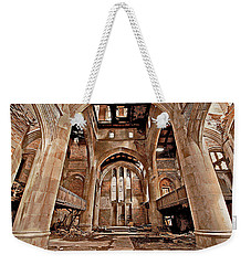 Weekender Tote Bag featuring the photograph Majestic Ruins by Suzanne Stout