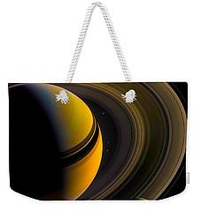 Majestic Saturn Weekender Tote Bag