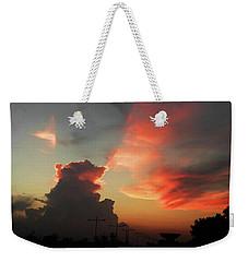 Majestic Sky Weekender Tote Bag