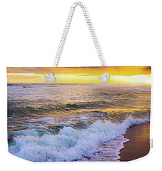 Weekender Tote Bag featuring the photograph Majestic Sunset In Paradise by Shelby Young
