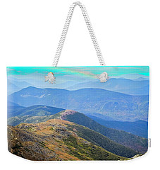 Majestic White Mountains Weekender Tote Bag