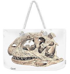 Majungasaur Skull Weekender Tote Bag