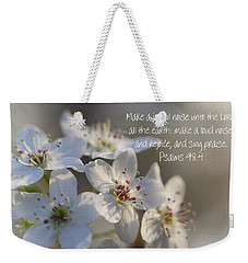 Make A Joyful Noise Unto The Lord Weekender Tote Bag