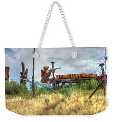 Make Love Not War I Weekender Tote Bag
