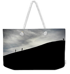 Weekender Tote Bag featuring the photograph Make The Climb by Pradeep Raja Prints