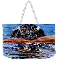 Make Wake Weekender Tote Bag by Molly Poole