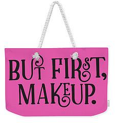 Makeup  Weekender Tote Bag by Elizabeth Taylor