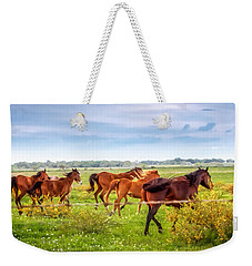 Weekender Tote Bag featuring the photograph Making A Diner Run by Melinda Ledsome