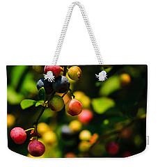 Making Blueberries Weekender Tote Bag