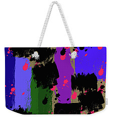 Weekender Tote Bag featuring the photograph Making Of Ideas by Tina M Wenger