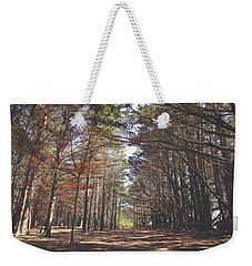 Weekender Tote Bag featuring the photograph Making Our Way Through by Laurie Search