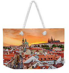 Weekender Tote Bag featuring the photograph Mala Strana by Fabrizio Troiani