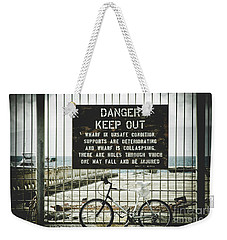 Weekender Tote Bag featuring the photograph Mala Wharf Lahaina Maui Hawaii by Sharon Mau