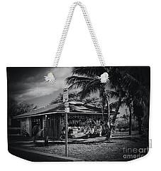Weekender Tote Bag featuring the photograph Mala Wharf Showers Lahaina Maui Hawaii by Sharon Mau