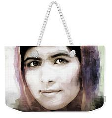 Malala Yousaf Zai 10 Weekender Tote Bag